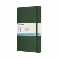 Moleskine Large Dotted Softcover Notebook: Myrtle Green