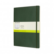 Moleskine Extra Large Plain Softcover Notebook: Myrtle Green