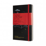 Moleskine Limited Edition Lord Of The Rings Large Ruled Notebook: Moria