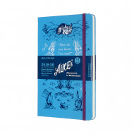 Moleskine Limited Edition Alice In Wonderland 2020 18-month Weekly Large Diary: Blue