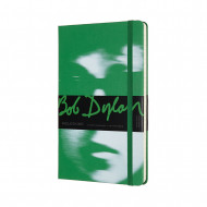 Moleskine Limited Edition Bob Dylan Large Ruled Notebook: Green