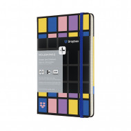Moleskine+ Dropbox Connected Large Ruled Hardback Smart Notebook: Black