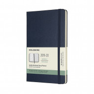 Moleskine 2020 18-month Large Weekly Hardcover Diary: Sapphire Blue