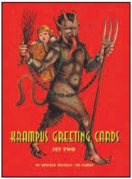 Krampus Greeting Cards Set Two