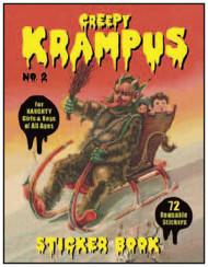 Creepy Krampus Sticker Book No. 2
