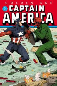 Golden Age Captain America Omnibus Vol. 2