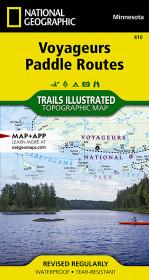 Voyageurs Paddle Routes