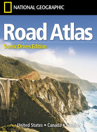 Road Atlas: Scenic Drives Edition (united States, Canada, Mexico)