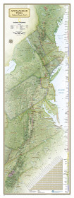Appalachian Trail Reference Map - Boxed