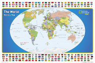 World For Kids Map, The [tubed]