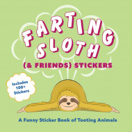 Farting Sloth (& Friends) Stickers