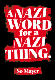 A Nazi Word For A Nazi Thing