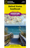 United States, Southeast Adventure Map