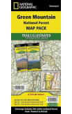 Green Mountain National Forest, Vermont, Map Pack Bundle