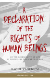 A Declaration Of The Rights Of Human Beings