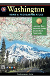 Benchmark Washington Road & Recreation Atlas, 9th Edition