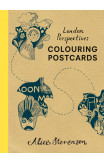 London Perspectives Colouring Postcards