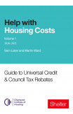 Help With Housing Costs: Volume 1