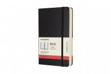 Moleskine 2022 18-month Daily Large Hardcover Notebook: Black