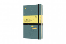 Moleskine Ltd. Ed. Petit Prince 2022 18-month Weekly Large Hardcover Notebook: Seaweed Green