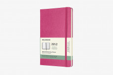 Moleskine 2022 18-month Weekly Large Hardcover Notebook: Bougainvillea Pink