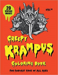Creepy Krampus Coloring Book